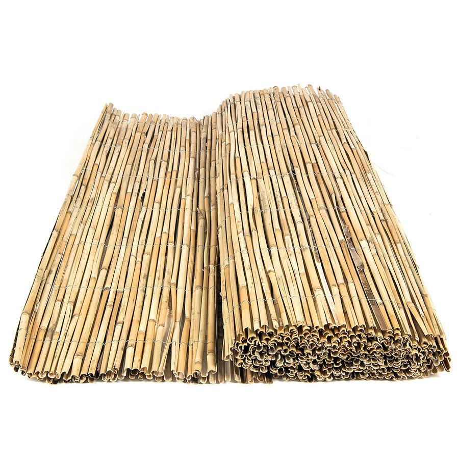 """Rákosová stínící rohož """"štípaný rákos"""" - délka 500 cm"""