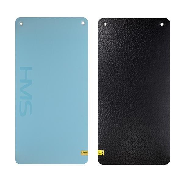 Modrá fitness podložka na cvičení MFK02 - délka 120 cm, šířka 60 cm a výška 2 cm