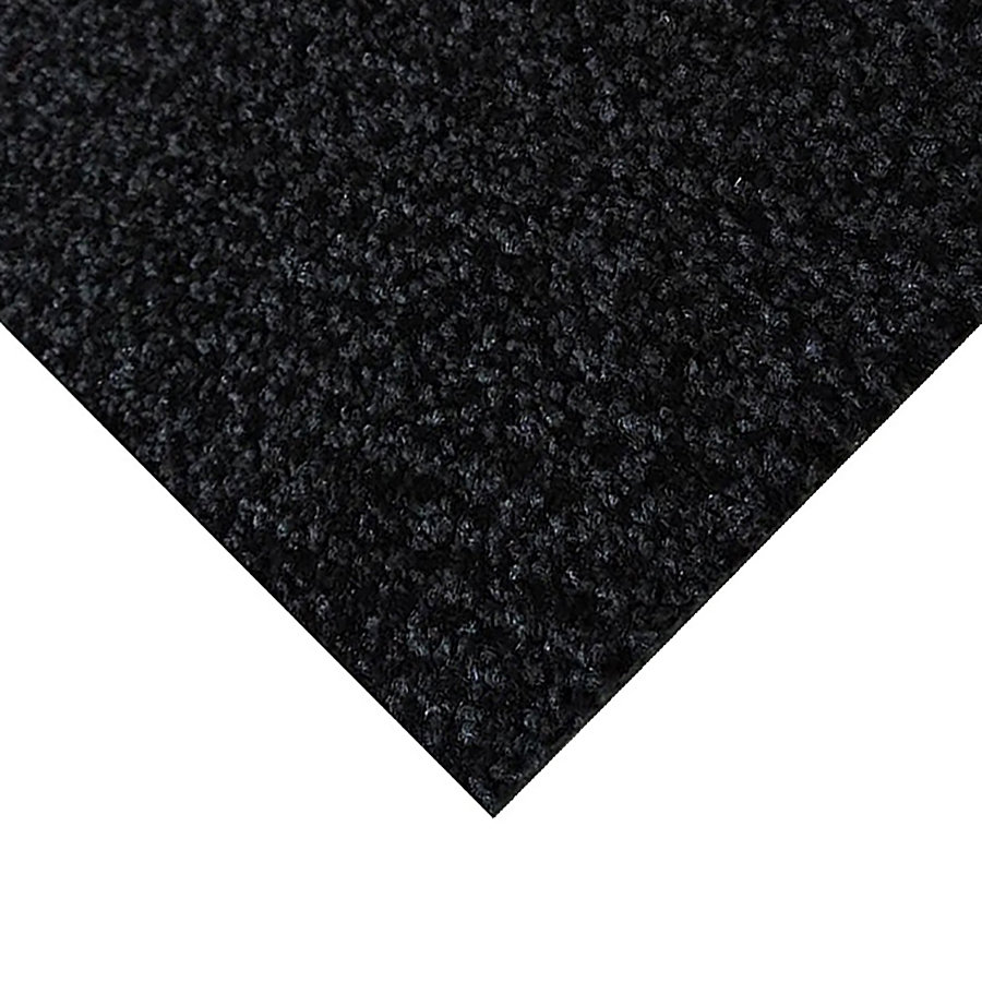 Černá kobercová vnitřní čistící zóna Alanis, FLOMA - výška 0,75 cm