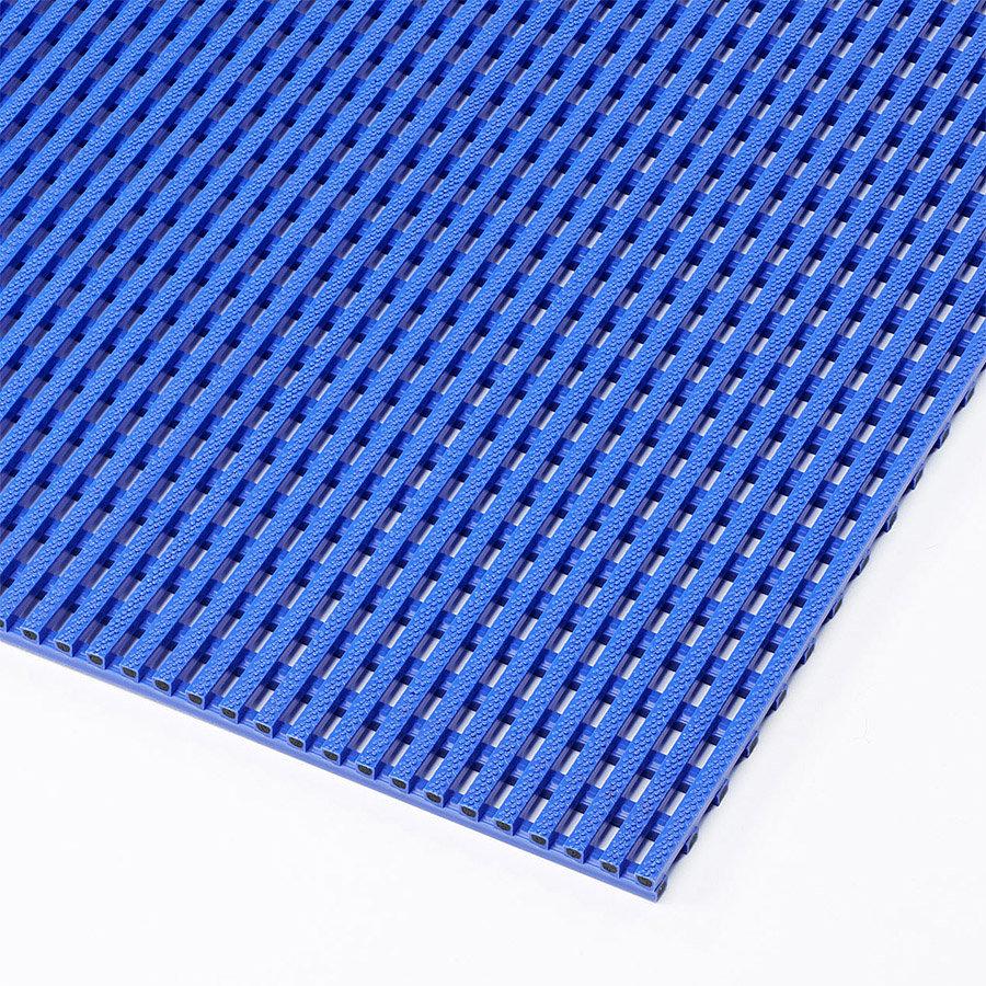Modrá bazénová protiskluzová rohož (metráž) Akwadek - délka 1 cm, šířka 91 cm a výška 1,2 cm