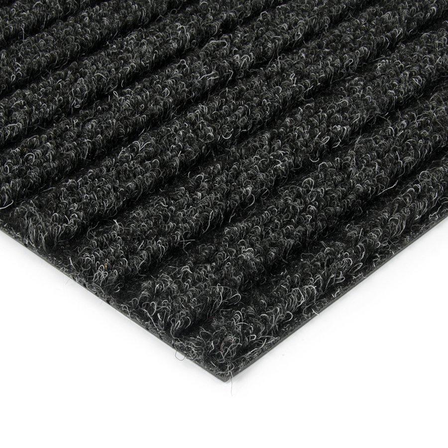 Černá kobercová vnitřní čistící zóna Shakira, FLOMAT - výška 1,6 cm