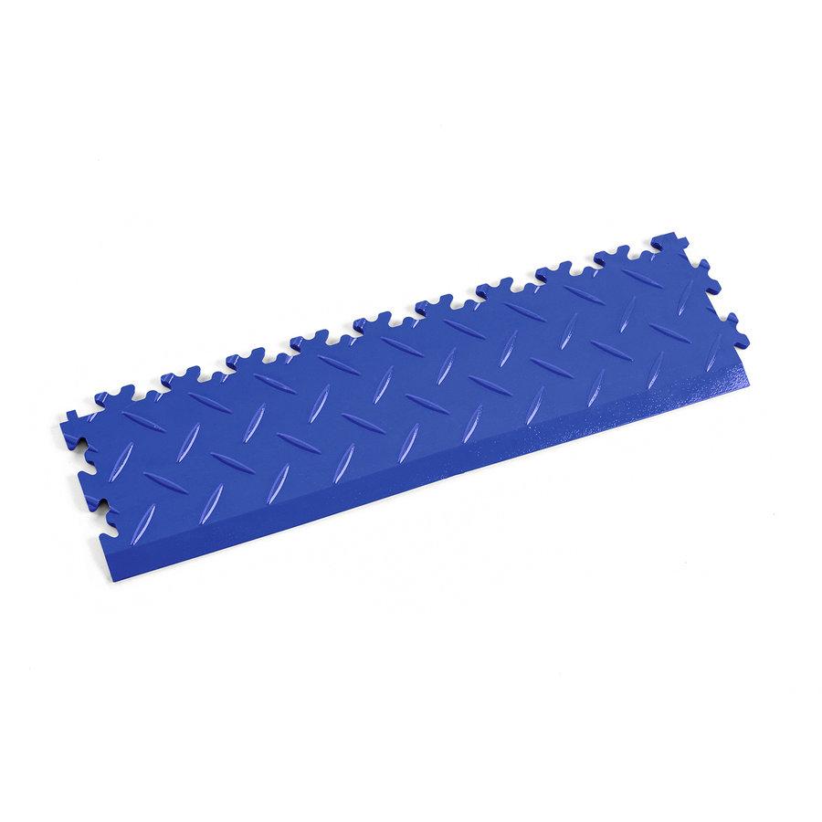 Modrý vinylový plastový nájezd 2015 (diamant), Fortelock - délka 51 cm, šířka 14 cm a výška 0,7 cm