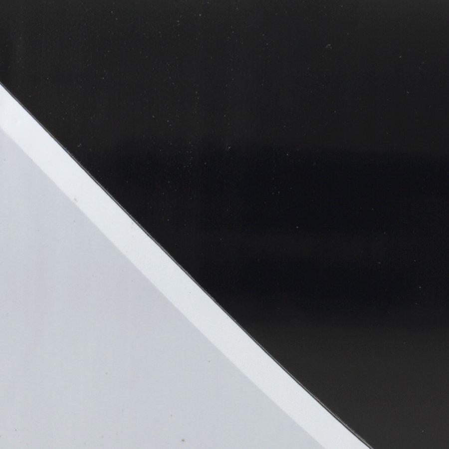 Bílo-černá vytyčovací páska - délka 250 m a šířka 7,5 cm