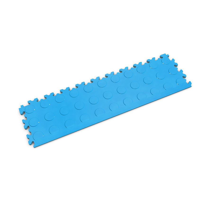 Modrý vinylový plastový nájezd 2045 (penízky), Fortelock, 02 - délka 51 cm, šířka 14 cm a výška 0,7 cm