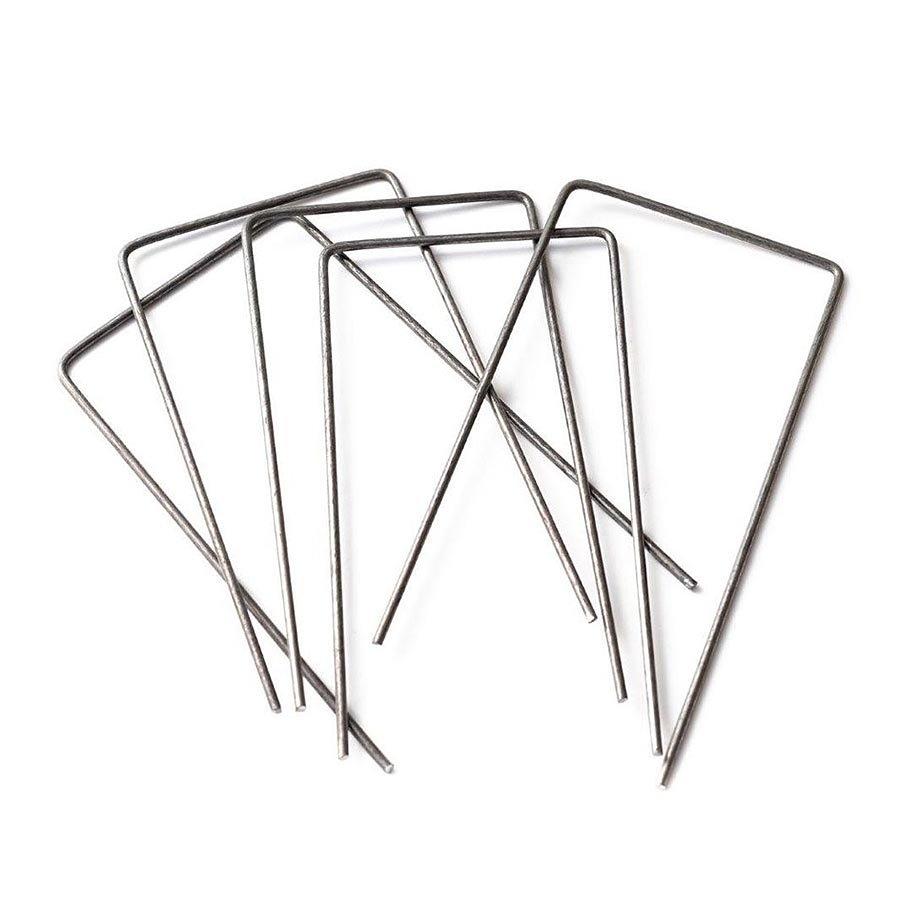 """Kovový upevňovací hřeb typ """"U"""" pro zatravňovací rohože TENAX - délka 15 cm"""