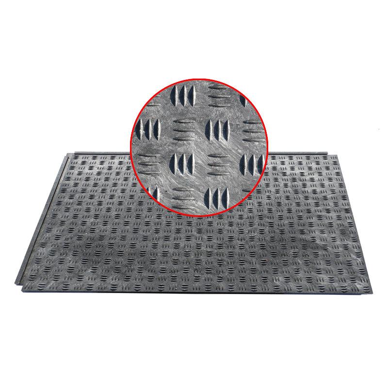 Plastová zátěžová podlahová deska - délka 120 cm, šířka 80 cm a výška 4,3 cm