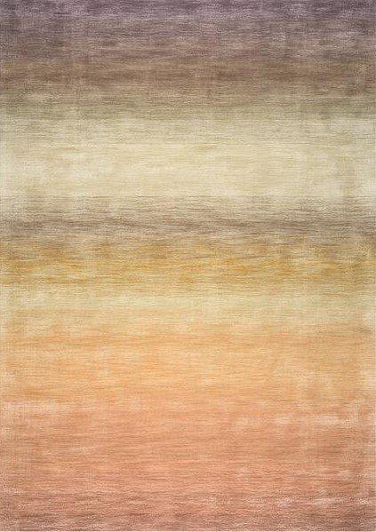 Hnědý kusový luxusní koberec Reflect