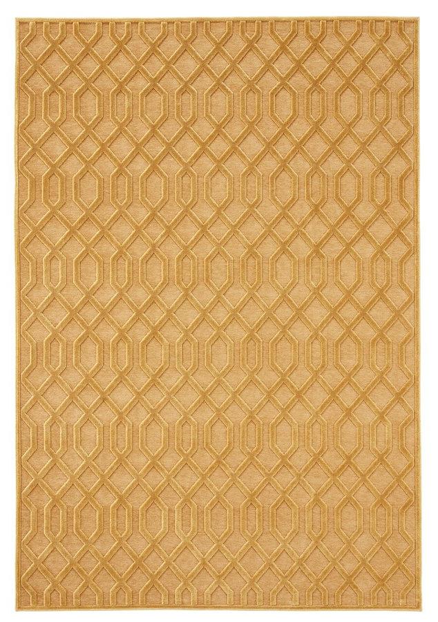 Světle hnědý moderní kusový koberec Caine, Mint Rugs - délka 250 cm a šířka 80 cm