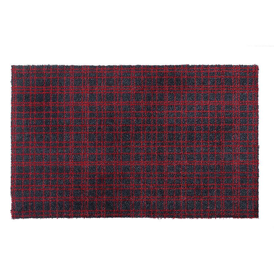 Červená metrážová čistící vnitřní vstupní pratelná rohož Fusion Dry - délka 1 cm