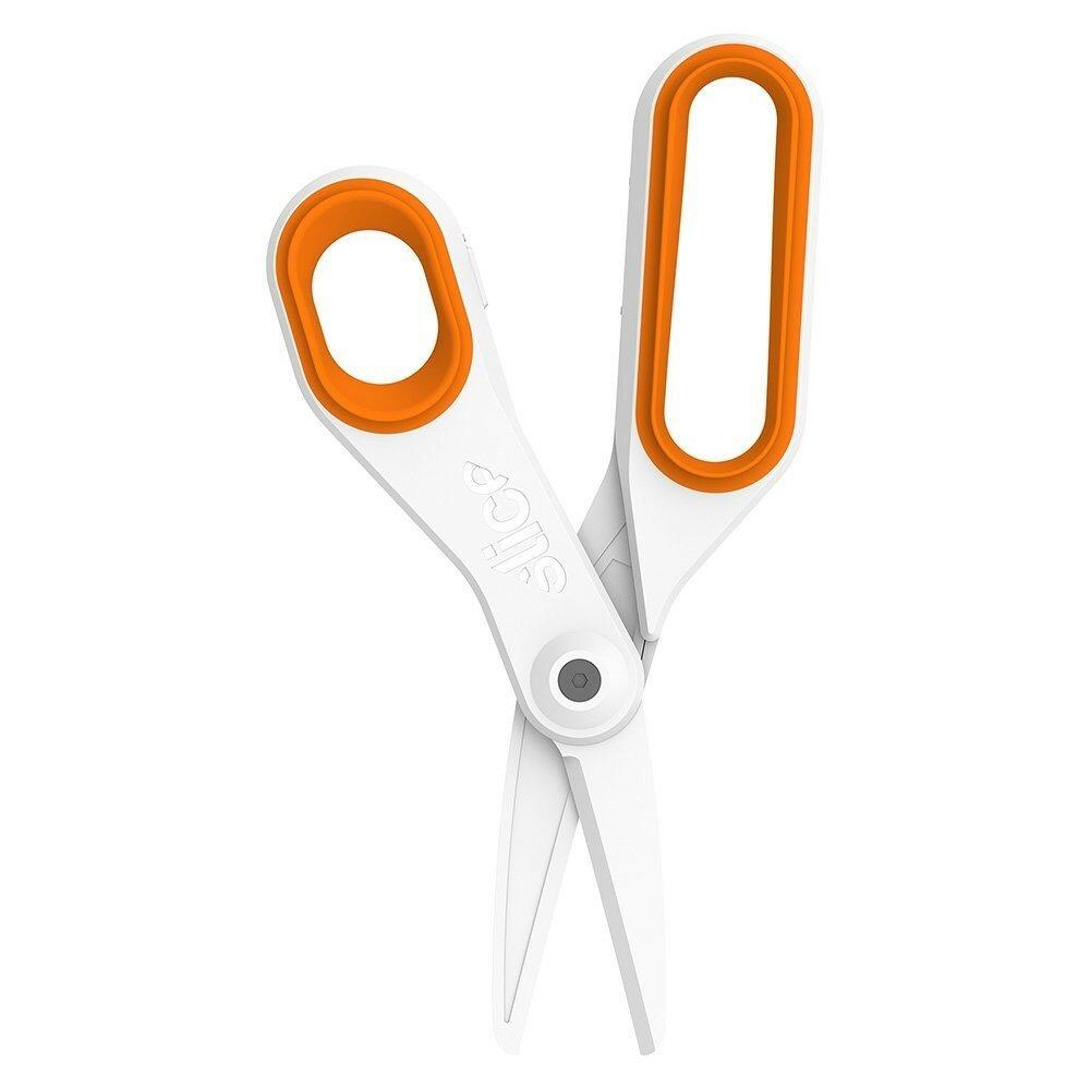 Keramické velké nůžky - délka 20 cm, šířka 7,6 cm a výška 1,3 cm