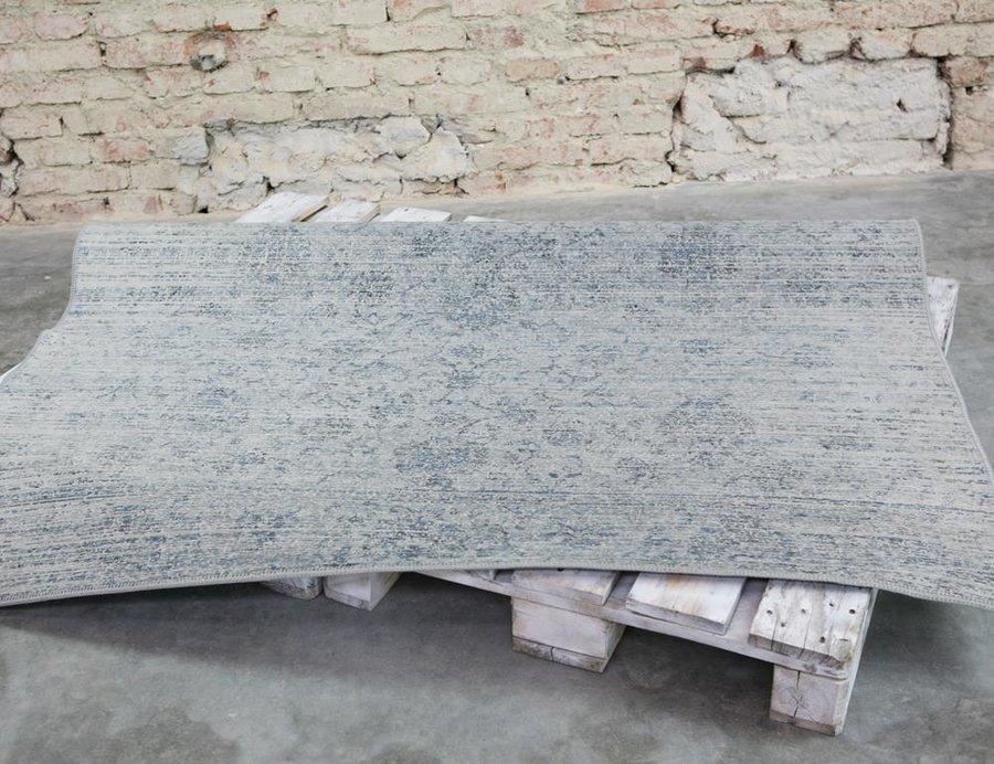 Modro-šedý kusový moderní koberec Origins - délka 240 cm a šířka 170 cm