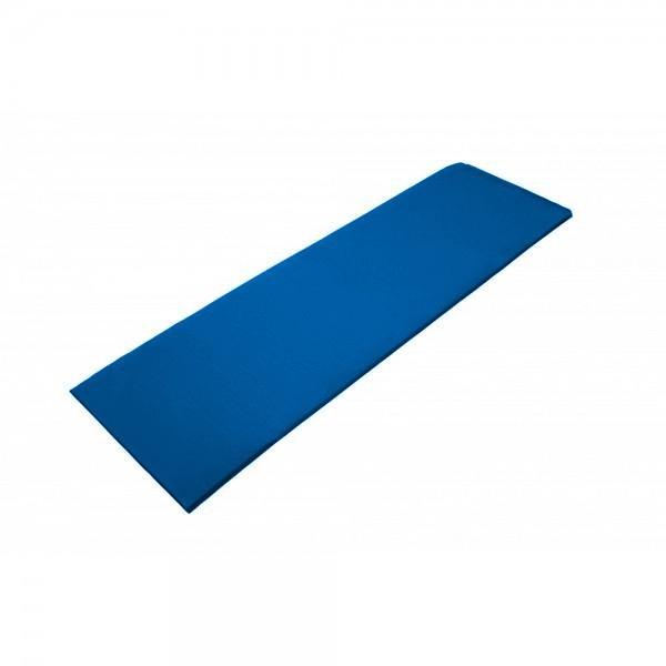 Modrá jednovrstvá pěnová karimatka - délka 180 cm, šířka 50 cm a výška 0,7 cm
