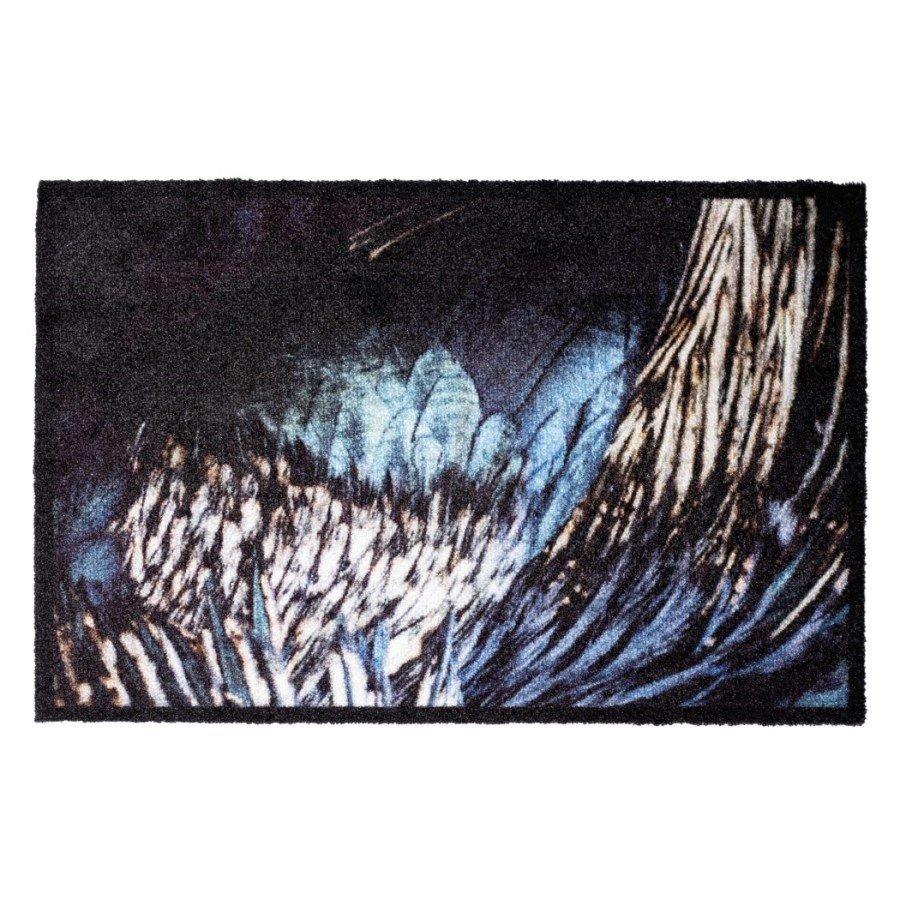 Vnitřní čistící pratelná vstupní rohož FLOMA Prestige Wings - délka 50 cm a šířka 75 cm