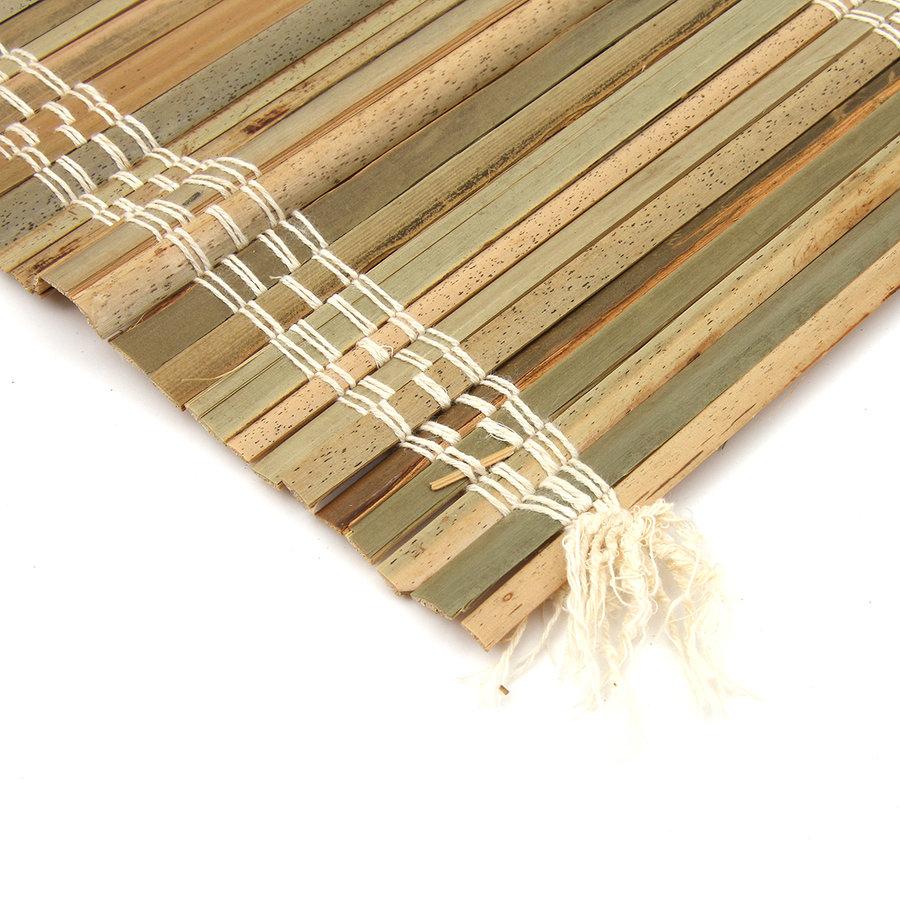 """Palmová rohož na zeď """"štípané palmové dřevo"""" - délka 300 cm a výška 70 cm"""