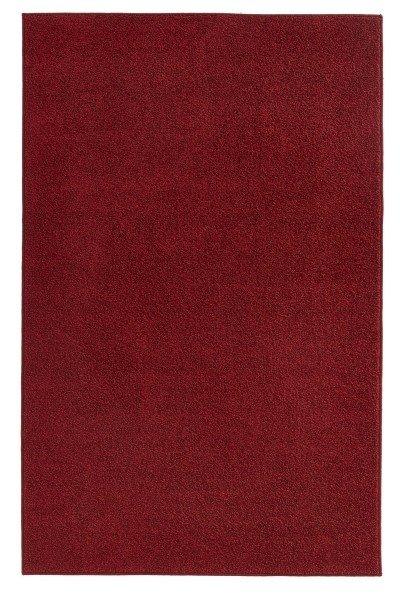 Červený kusový koberec Pure