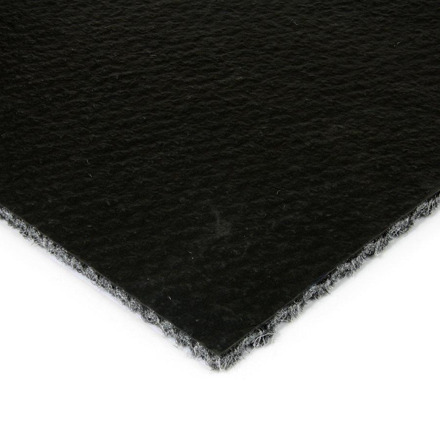 Šedá kobercová zátěžová čistící zóna FLOMA Fiona - výška 1,1 cm