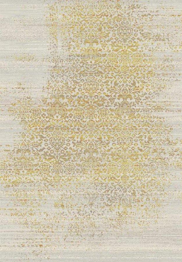 Žlutý kusový moderní koberec Patina - délka 200 cm a šířka 135 cm