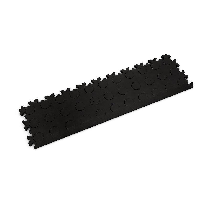 Černý vinylový plastový nájezd Fortelock Eco 2045 (penízky) - délka 51 cm, šířka 14 cm a výška 0,7 cm