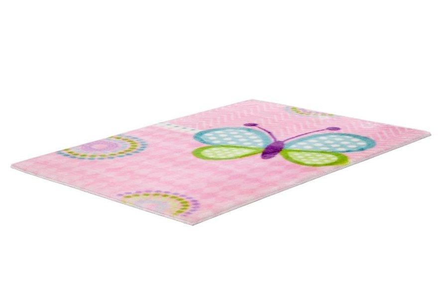 Různobarevný kusový dětský koberec Lollipop - délka 170 cm a šířka 120 cm