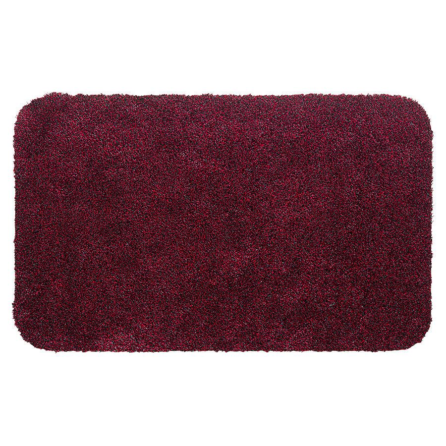 Červená metrážová čistící vnitřní vstupní pratelná rohož Aqua Luxe - délka 1 cm