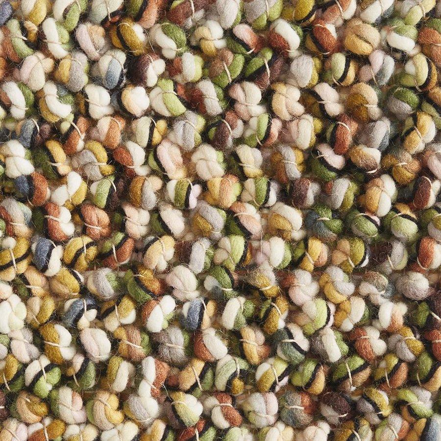 Světle hnědý luxusní kusový koberec Marble - délka 240 cm a šířka 170 cm
