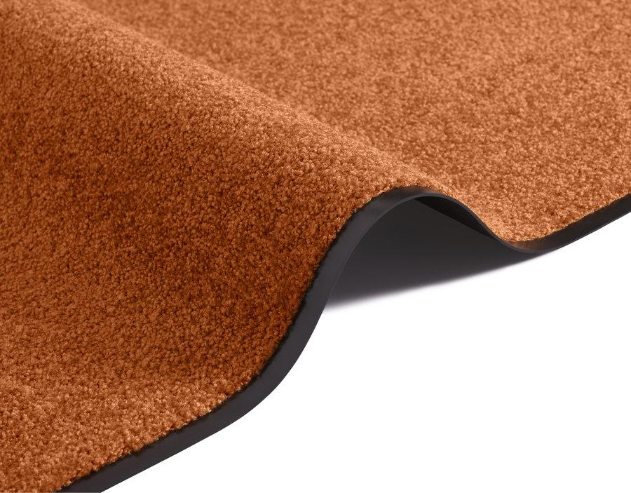 Oranžový kusový koberec Wash & Clean
