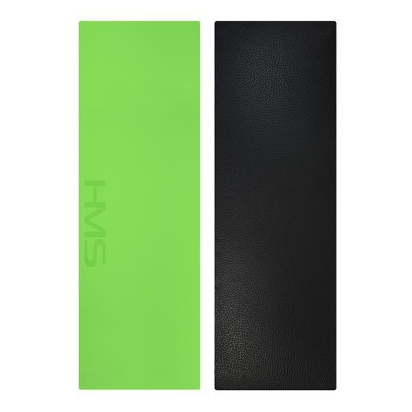 Zelená podložka na jógu YM06 - délka 180 cm, šířka 60 cm a výška 0,8 cm