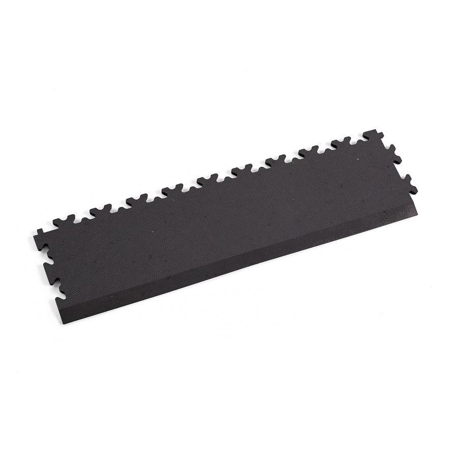 Šedý vinylový plastový nájezd Fortelock Eco 2025 (kůže) - délka 51 cm, šířka 14 cm a výška 0,7 cm