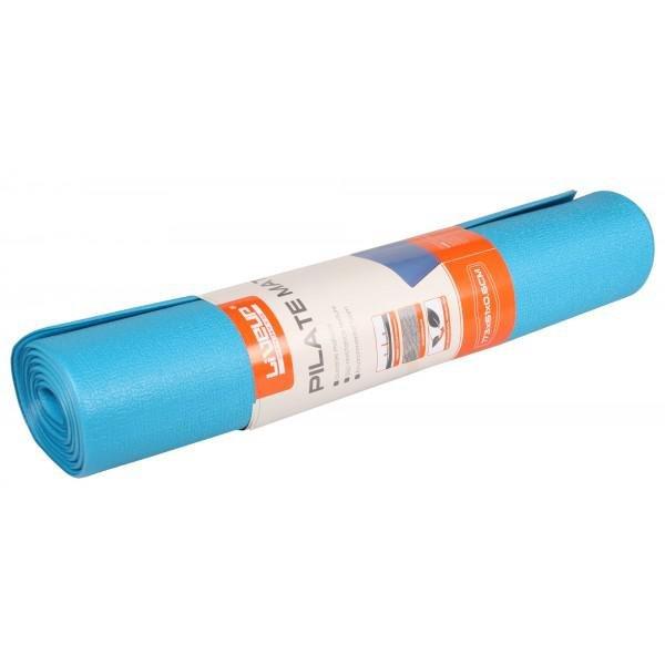 Modrá podložka na jógu a na cvičení - délka 173 cm, šířka 61 cm a výška 0,6 cm