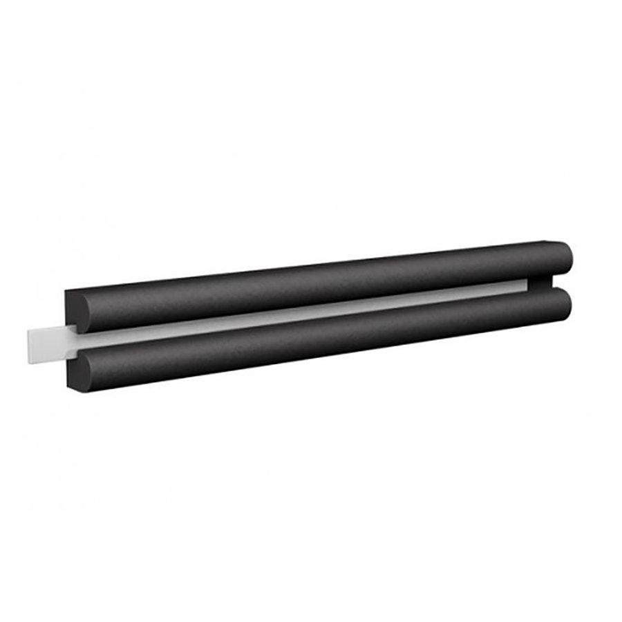 Pryžový nárazový ochranný pás (svodidlo) FLOMA - délka 300 cm, výška 6 cm a tloušťka 3 cm