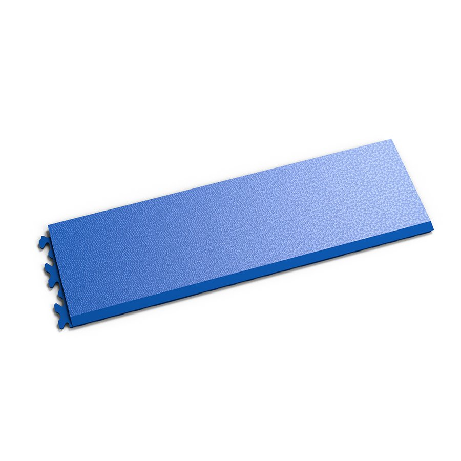 """Modrý vinylový plastový nájezd """"typ C"""" Invisible 2033 (hadí kůže), Fortelock - délka 46,8 cm, šířka 14,5 cm a výška 0,67 cm"""