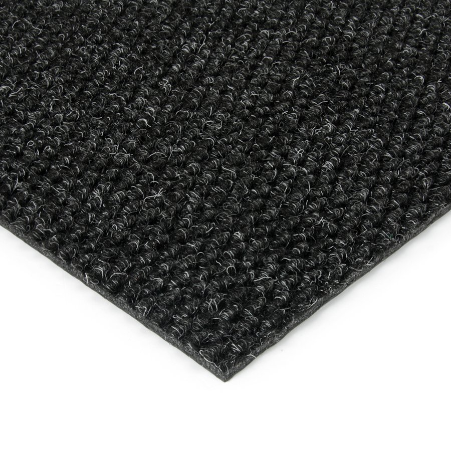 Černá kobercová zátěžová vnitřní čistící zóna Fiona, FLOMAT, 02 - výška 1,1 cm