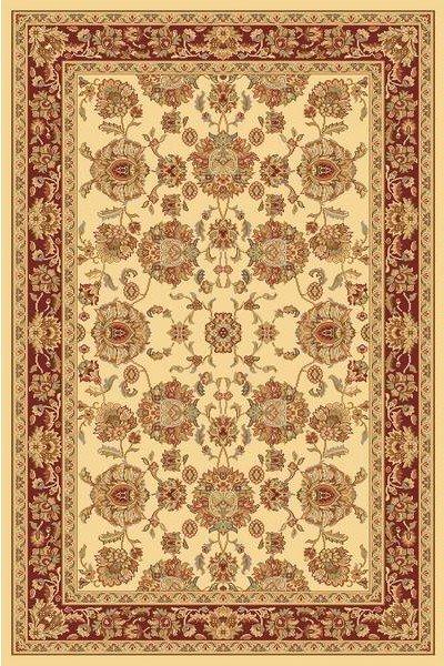 Béžový orientální kusový koberec Super Antique - délka 195 cm a šířka 135 cm