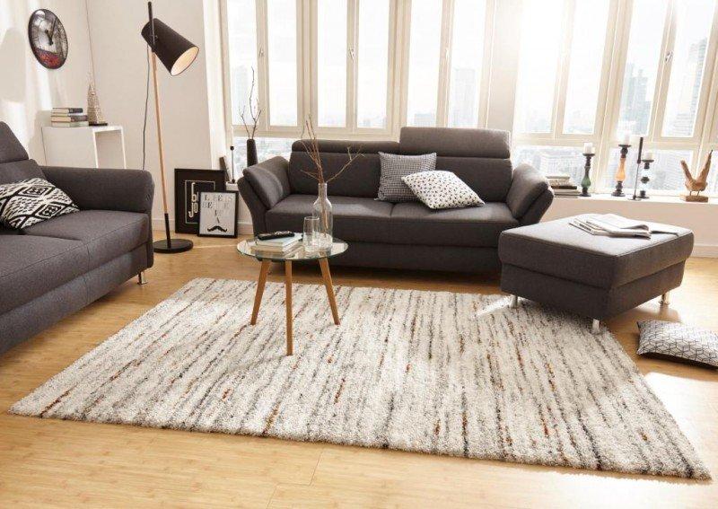Béžový kusový moderní koberec Nomadic