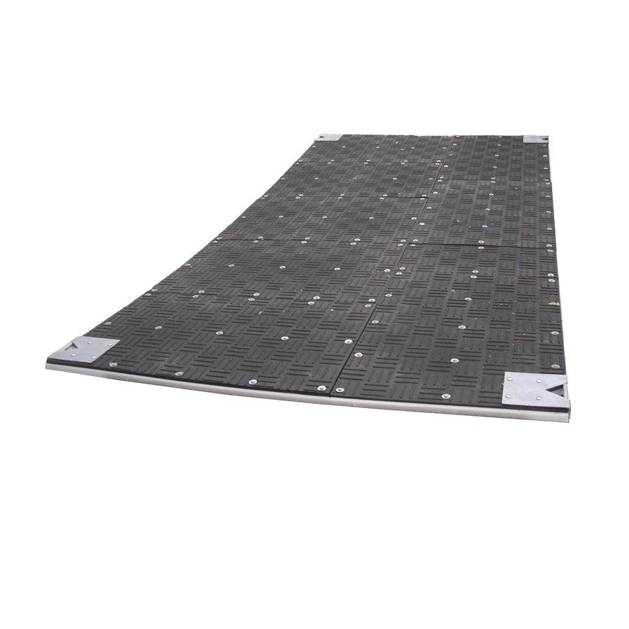 Pontonová terénní deska - délka 400 cm, šířka 100 cm a výška 3,7 cm