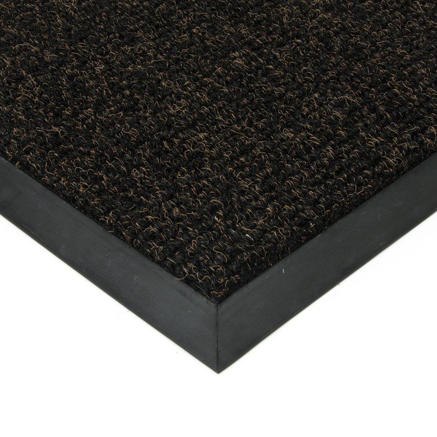 Černá textilní zátěžová čistící vnitřní vstupní rohož Catrine, FLOMAT - výška 1,35 cm