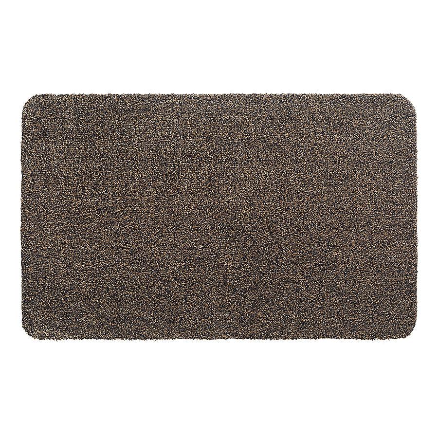 Hnědá metrážová čistící vnitřní vstupní pratelná rohož Aqua Luxe, FLOMA - délka 1 cm