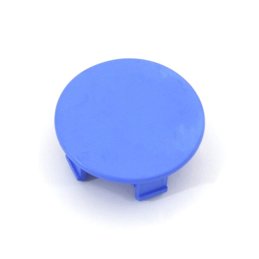 Modrý plastový vyznačovací prvek FLOMA - průměr 7 cm