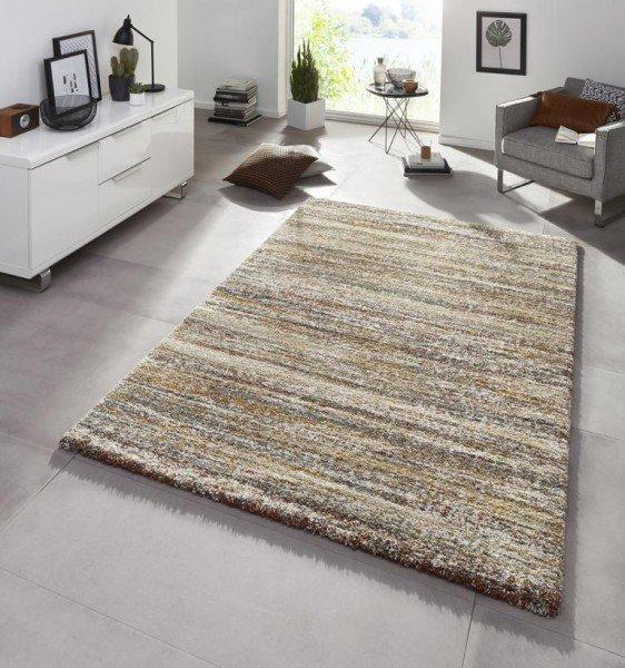Různobarevný moderní kusový bytový obdélníkový koberec Chloe - délka 195 cm a šířka 133 cm