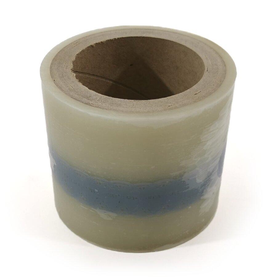 Ochranná antimikrobiální fólie s potiskem - délka 40 m, šířka 10 cm a tloušťka 40 μm