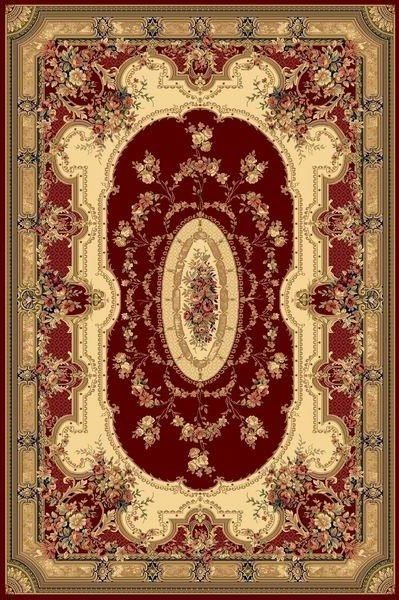 Červený orientální kusový koberec Super Antique - délka 195 cm a šířka 135 cm