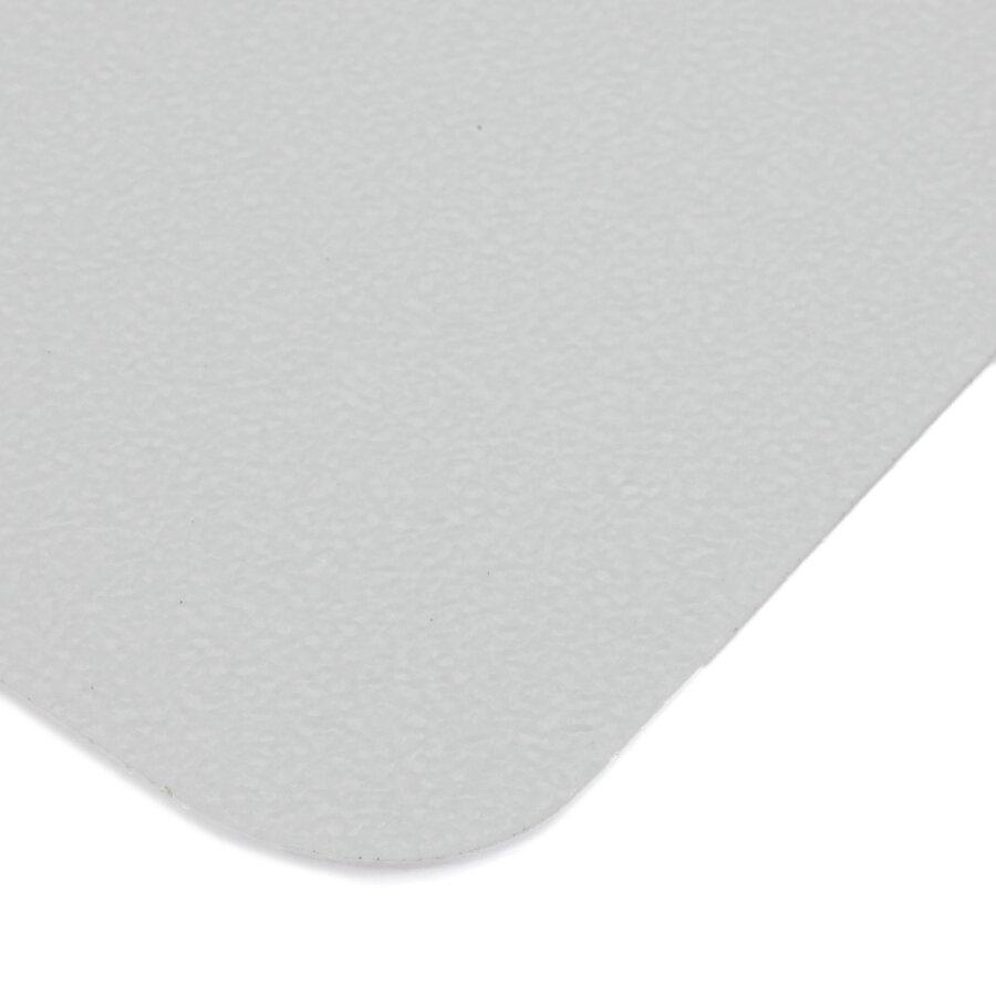 Průhledná plastová voděodolná protiskluzová páska (dlaždice) FLOMA Aqua-Safe - délka 14 cm, šířka 14 cm a tloušťka 0,7 mm