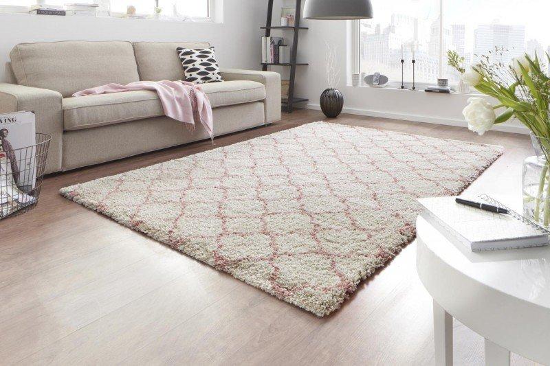 Šedý moderní kusový bytový obdélníkový koberec Grace - délka 150 cm a šířka 80 cm