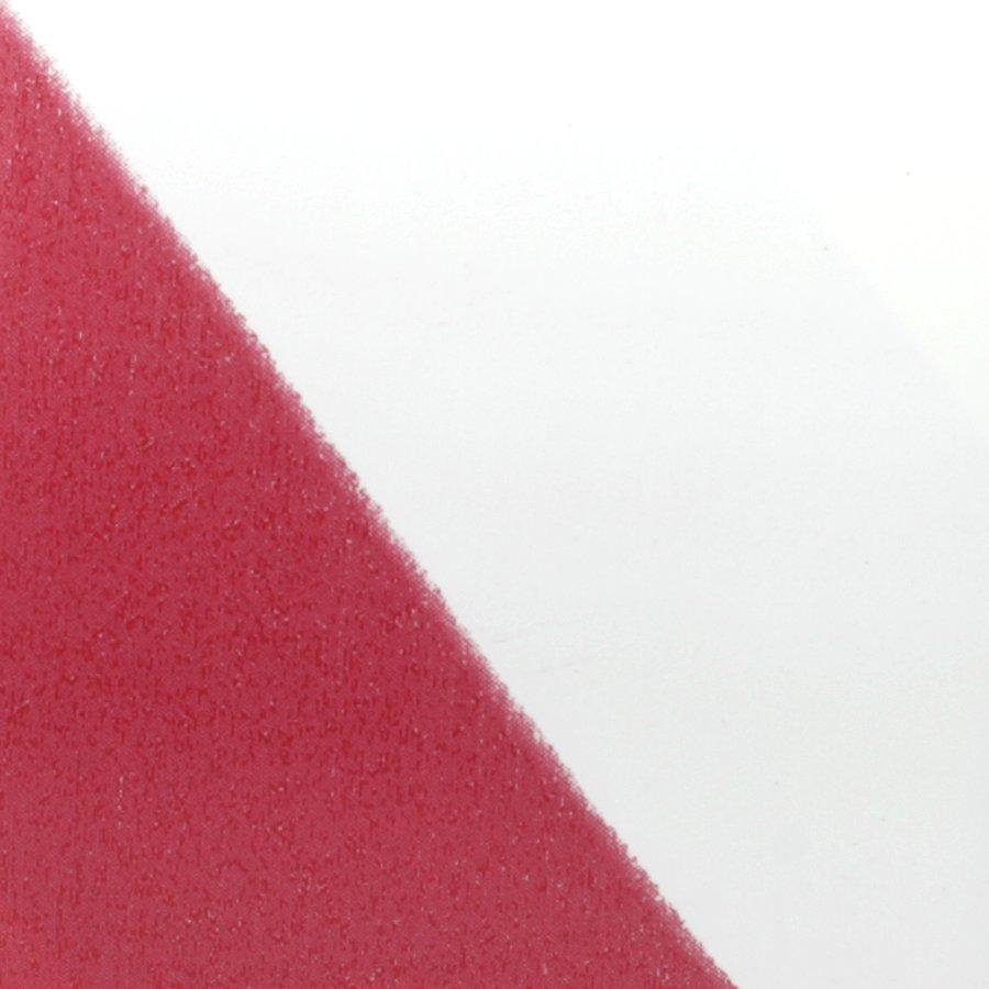 Bílo-červená pravá výstražná páska - délka 33 m a šířka 5 cm