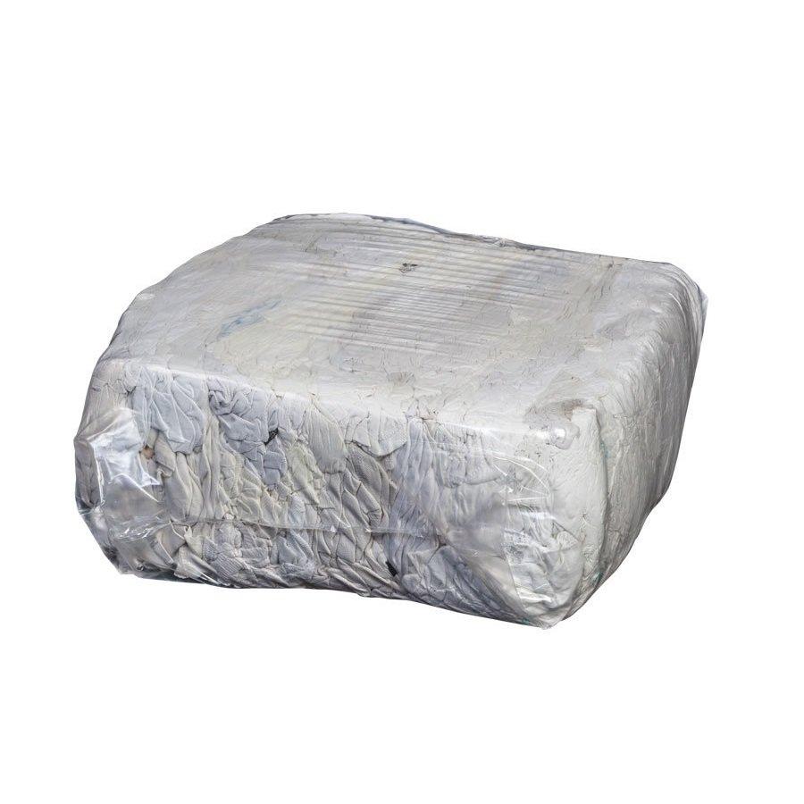 Bílá bavlněná čistící textilie - 10 kg