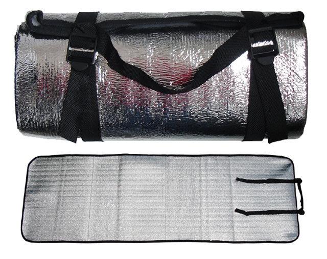 Karimatka s hliníkovou folií - délka 180 cm, šířka 60 cm a výška 0,3 cm