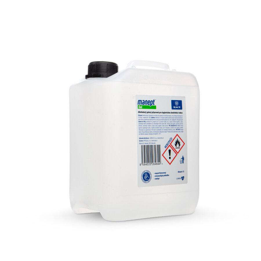 Dezinfekční gel - objem 5 l - 2 ks