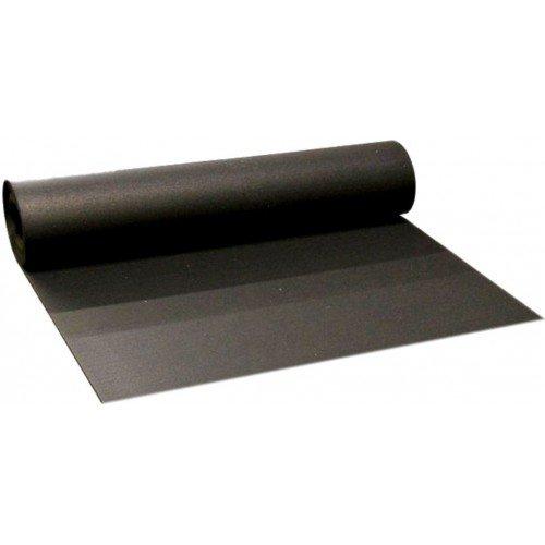 Černá pryžová EPDM deska - šířka 100 cm a výška 1 cm