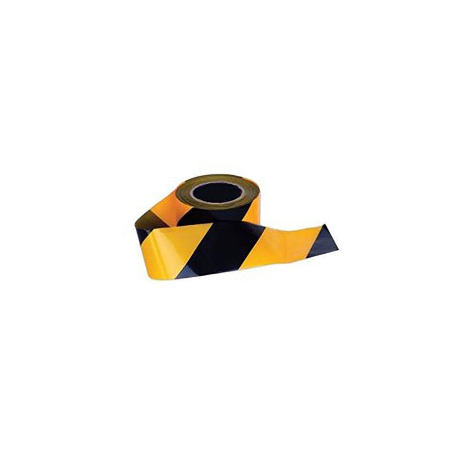 Černo-žlutá vytyčovací páska - délka 250 m a šířka 7,5 cm