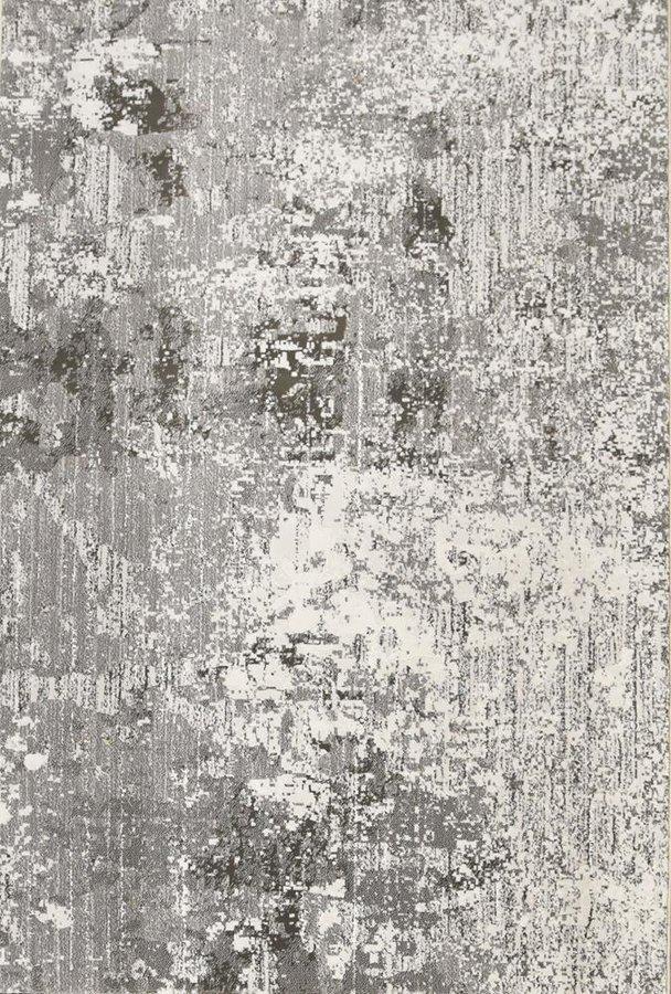 Šedý kusový moderní koberec Piazzo